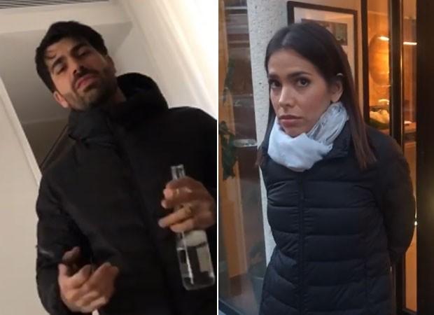 Rodrigão e Adriana (Foto: Reprodução)