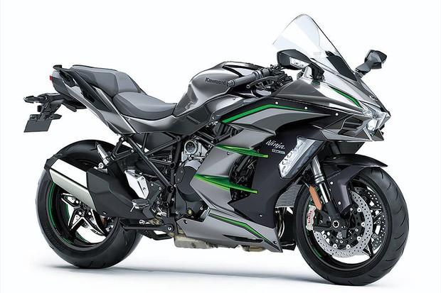 Kawasaki Ninja H2 SX SE (Foto: Divulgação)