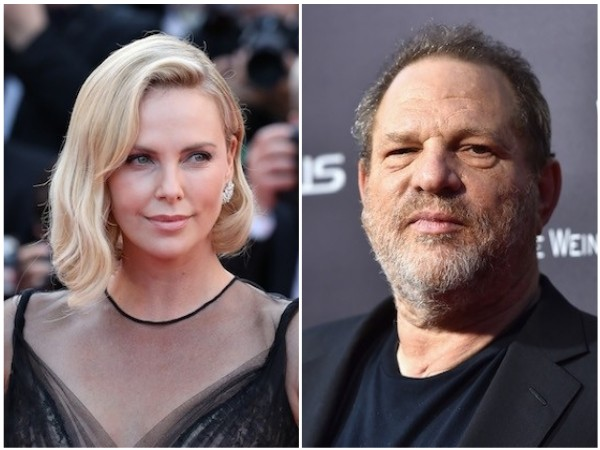 Charlize Theron e Harvey Weinstein (Foto: Getty Images)