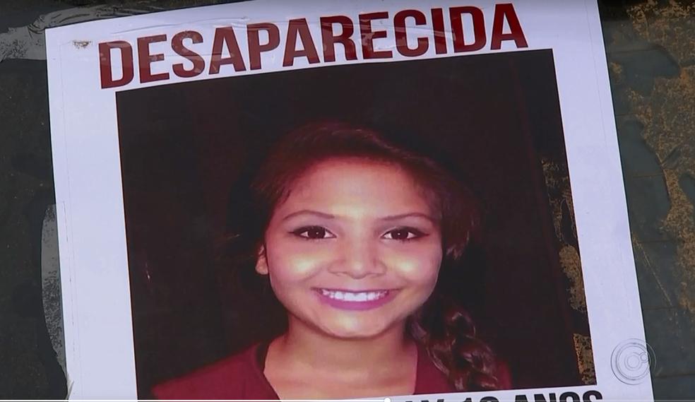 Menina desaparecida desde o dia 8 de junho foi encontrada morta no sábado (16), em Araçariguama (Foto: TV TEM/Reprodução)