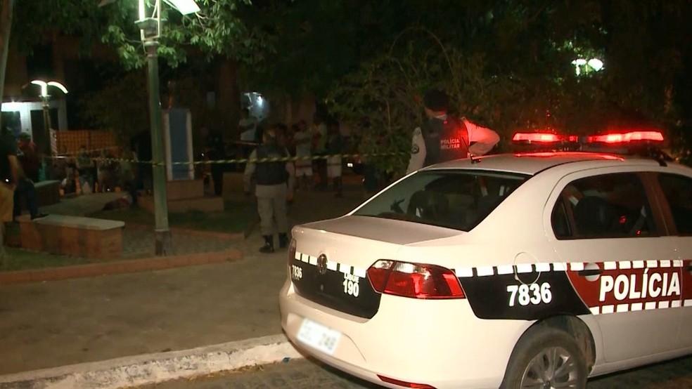 Duplo homicídio aconteceu em Catolé do Rocha, no Sertão da Paraíba — Foto: Reprodução/TV Paraíba