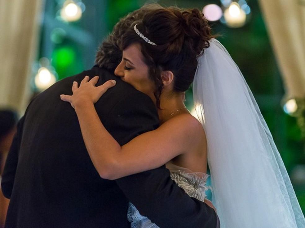 Enrico (Joaquim Lopes) desiste do casamento com Maria Clara (Andreia Horta) - 'Império'  — Foto: Artur Meninea/Globo