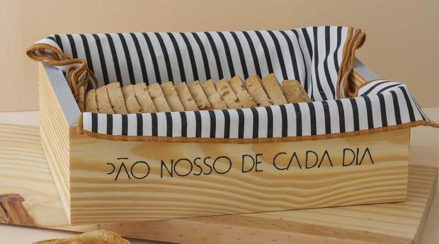 Cesto de pão  (Foto: Divulgação)