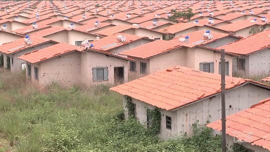 Casas do 'Minha Casa, Minha Vida' estão desabitadas no Maranhão