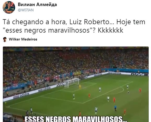 Torcedores falam de bordão de Luis Roberto (Foto: Reprodução)