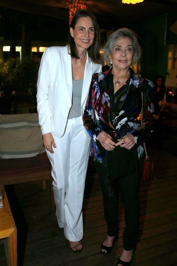 Sílvia Pfeifer e Betty Faria (Foto: Andre Freitas/AgNews.)