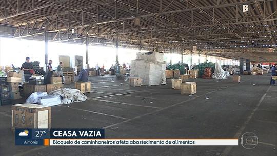 CeasaMinas registra falta de ovos para venda após paralisação de caminhoneiros