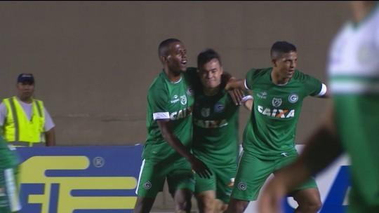 Os gols de Goiás 1 x 1 Juventude pela Série B do Campeonato Brasileiro