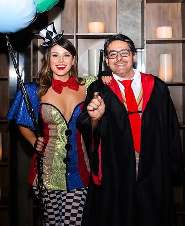 Paula Fernandes e Daniel Silveira, da Universal Music (Foto: Anchell Fotografia/ Divulgação)