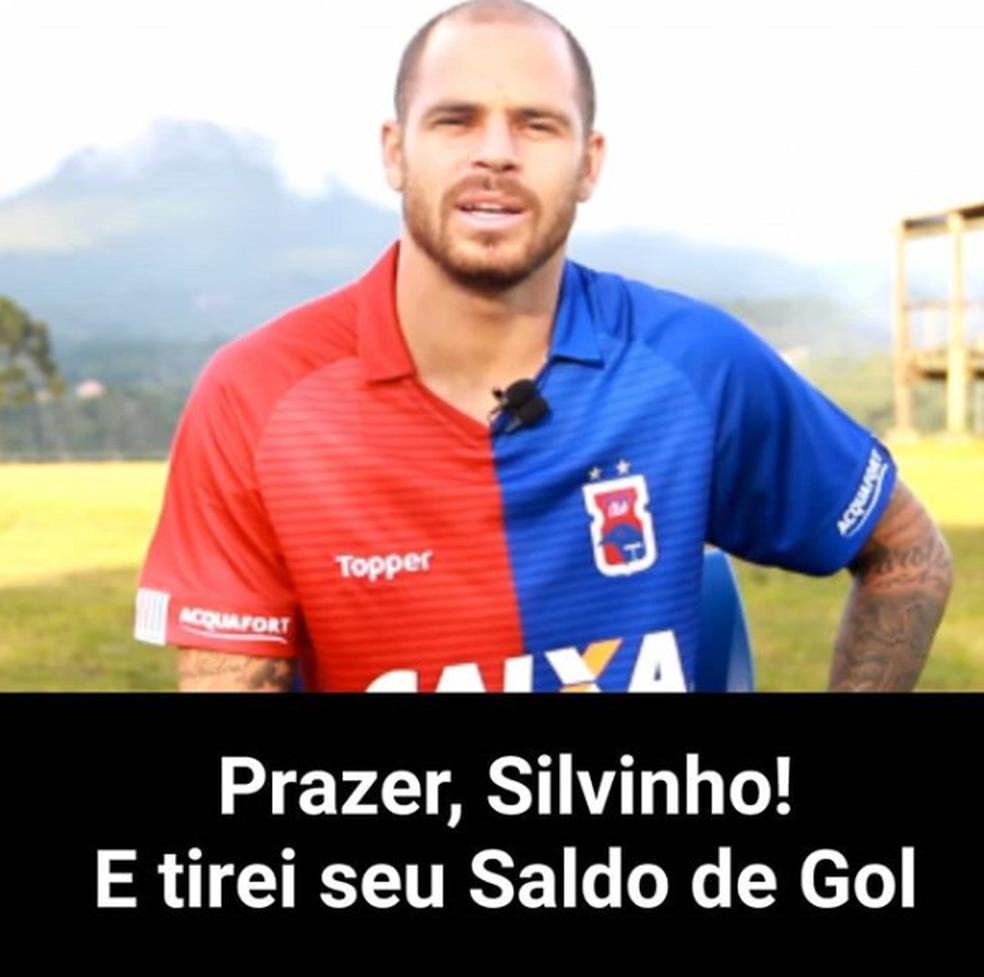 Silvinho marca no fim e frustra milhares de cartoleiros (Foto: Reprodução Instagram @cartolafctop)