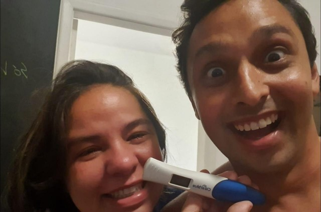 Pedro Neville e a mulher, Maria Fernanda (Foto: Arquivo pessoal)