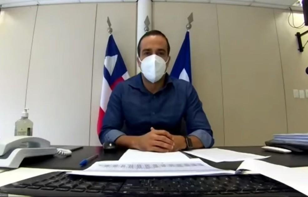 Prefeito de Salvador, Bruno Reis — Foto: Reprodução/Redes Sociais