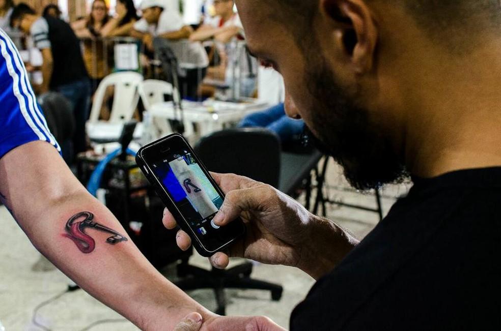 Tattoos são de R$ 50 a R$ 350 nos dias 9 e 10 de dezembro (Foto: Reprodução/Facebook)