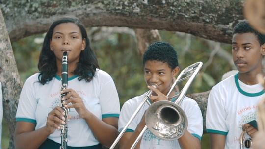 Escola Ambiental une educação, preservação do meio ambiente e arte em Barra do Pojuca