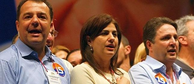 Sérgio Cabral, Rosinha e Anthony Garotinho