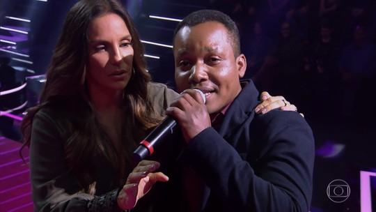 Ivete Sangalo chama participante de 'gostoso', e ele manda recado para o marido da cantora