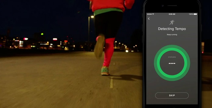 Spotify-corrida (Foto: Reprodução/Streaming)
