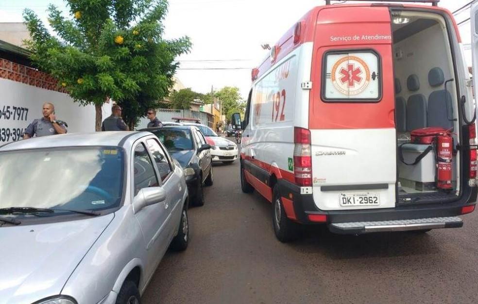 Mulher foi assassinada com 10 facadas em Araraquara (Foto: A Cidade ON/ Araraquara)