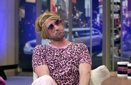 Outro personagem foi a Bicha Bichérrima, que ele encarnou no 'Ferdinando show', do Multishow, em 2015 Reprodução