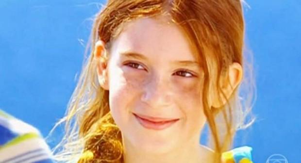 Marina Ruy Barbosa, aos 10 anos, em Belíssima (Foto: Reprodução/Instagram)