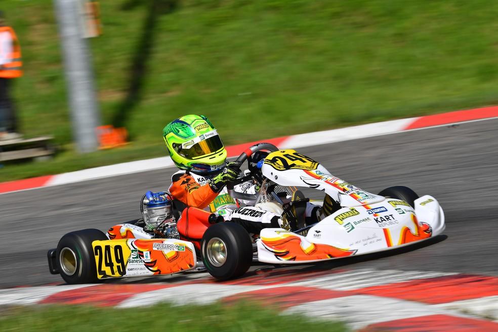 Guilherme Figueiredo, piloto sergipano de kart — Foto: Sport in Photo
