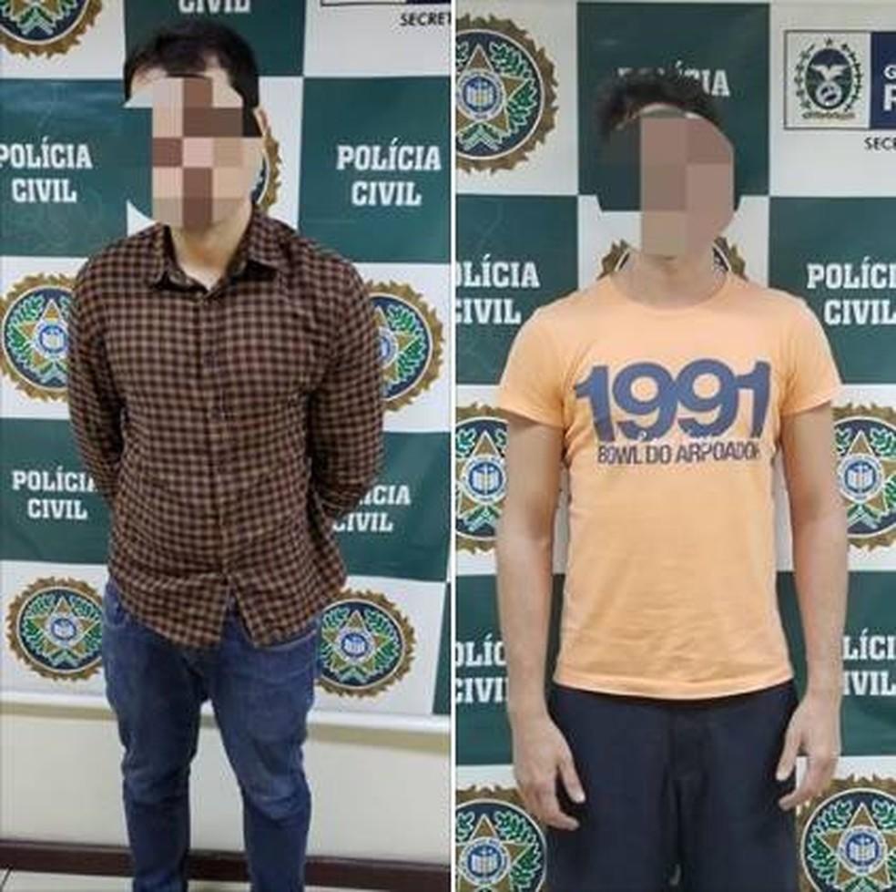 Médico e estudantes são presos acusados de dopar e estuprar jovem em festa — Foto: Divulgação/Polícia Civil