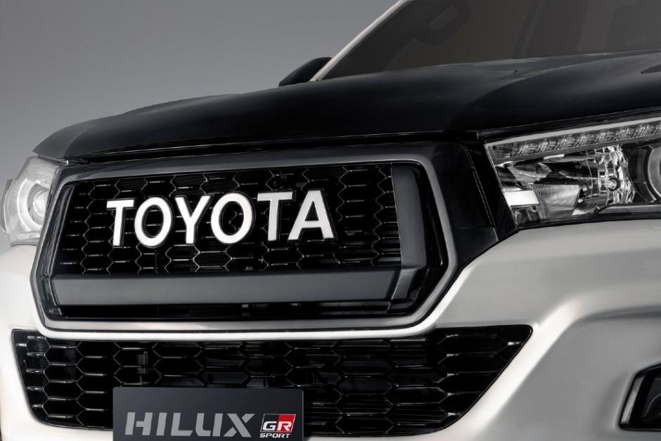 Detalhe da Toyota Hilux 2019 (Foto: Divulgação)