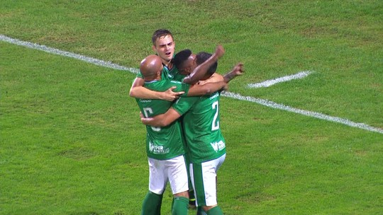 Os gols de Coritiba 0 x 2 Guarani pela 34ª rodada do Campeonato Brasileiro