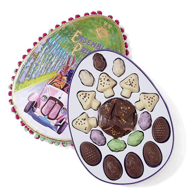 Casa Vogue Ama: chocolates com design (Foto: Divulgação/reprodução)
