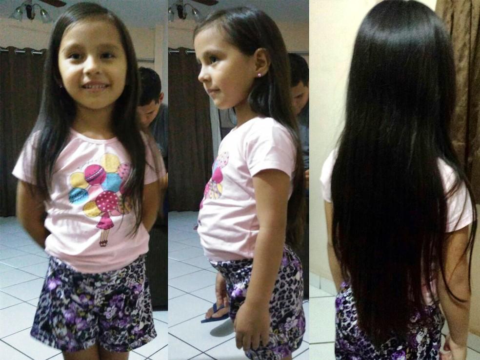 Menina De Seis Anos Decide Cortar O Cabelo Para Doar A