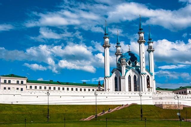 Kazan, a cidade que recebe o Brasil nas quartas-de-final (Foto: Wikimedia Commons)