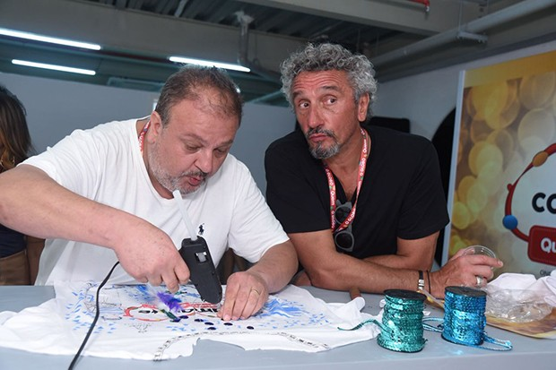 Érick Jacquin e Emmanuel Bassoleil (Foto: Renato Wrobel/ QUEM)