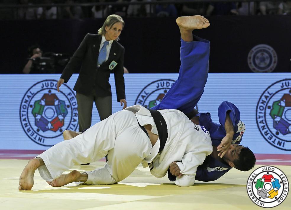 Luciano Corrêa deixa judô, mas quer trabalhar com gestão esportiva (Foto: Divulgação / IJF)