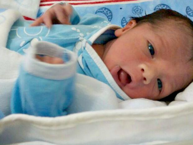 Bebê perdeu a mãe dias após o parto Acre (Foto: Arquivo Pessoal)
