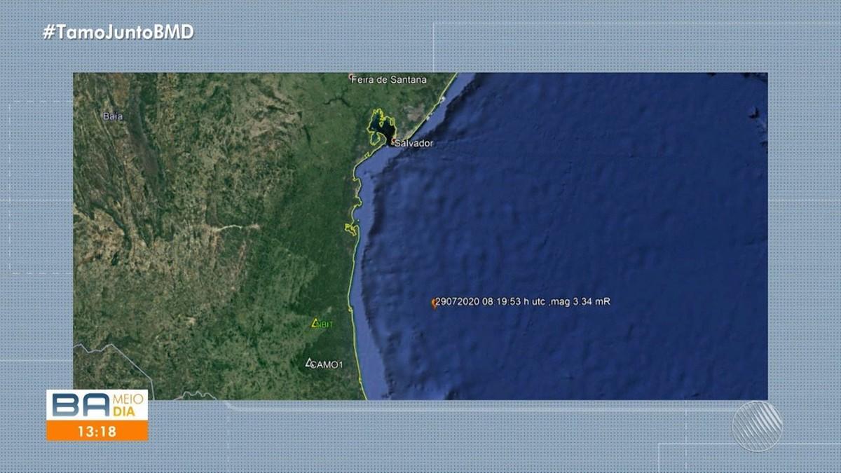 Terremoto de 3,5 de magnitude é registrado no litoral sul da Bahia – G1