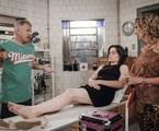 Cena de 'Pé na cova' | Rafael Sorín/TV Globo