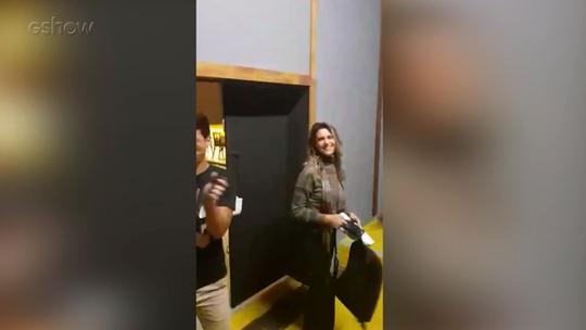 Fernanda Lima ganha festa de aniversário surpresa nos bastidores do 'Amor & Sexo'