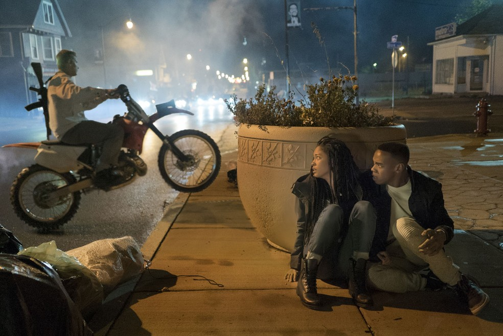 Cena do filme 'Primeira Noite de Crime' — Foto: Divulgação