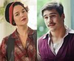 Joana de Verona e Nicolas Prattes como Adelaide e Alfredo em 'Éramos seis' | TV Globo
