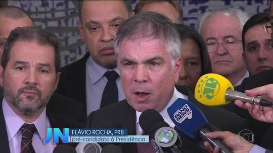 PRB anuncia empresário Flávio Rocha pré-candidato à presidência