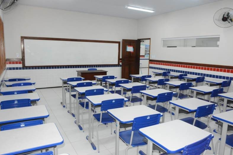Com 'ensino híbrido' e revezamento, escolas estaduais preparam retorno das aulas no Maranhão