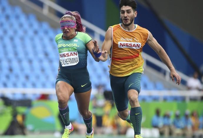 Terezinha Guilhermina - atletismo 100m T11 paralimpíada rio 2016 (Foto: Reuters)