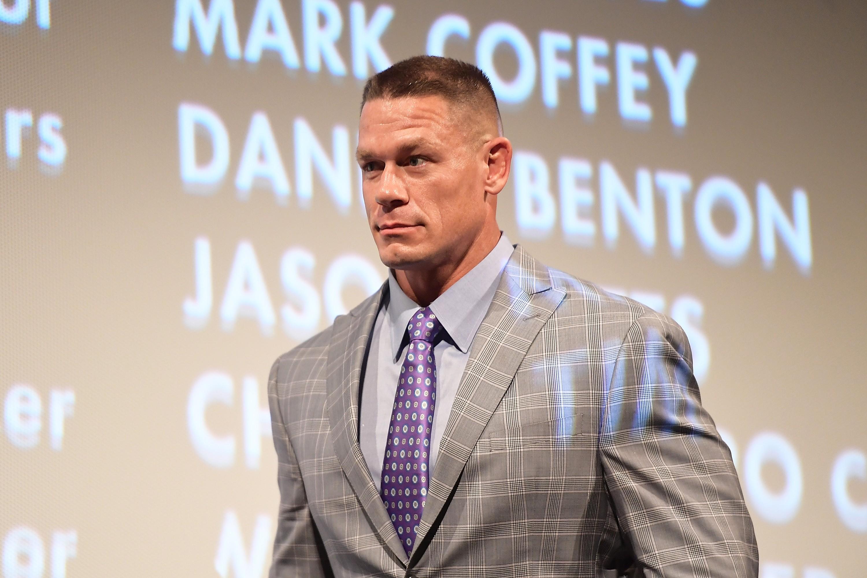 O ex-astro de luta-livre John Cena (Foto: Getty Images)