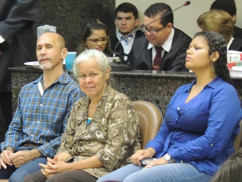 Júri do trio conhecido como 'canibais de Garanhuns' terminou com condenação neste sábado (15) — Foto: Katherine Coutinho/G1
