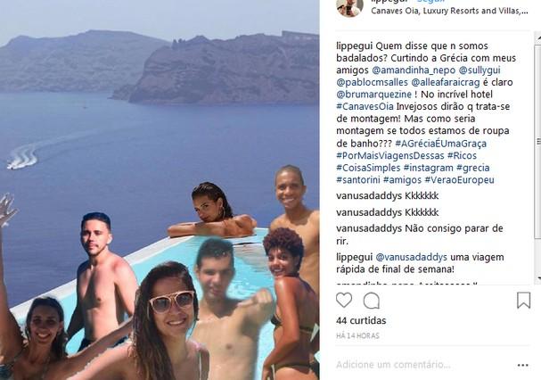 Memes na Grécia (Foto: Instagram/Reprodução)