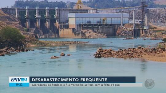 Municípios abastecidos pelo Rio Grande sofrem com falta de água no Sul de Minas