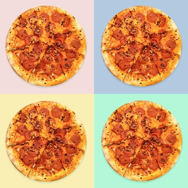Dia da Pizza sem sair da dieta (Foto: Arte Vogue/Getty Images)