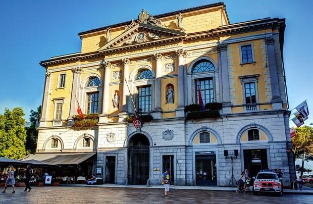 Palazzo Civico, em Lugano (Foto: Wikimedia Commons)