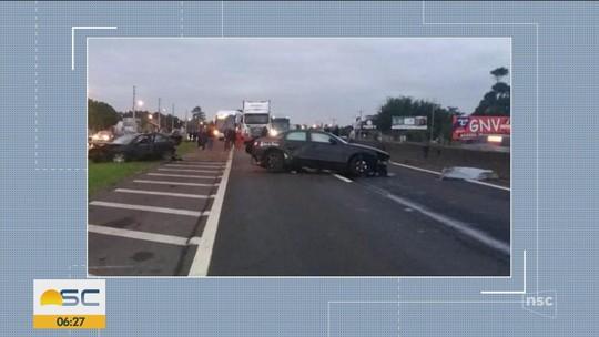 Em SC, PRF registra 5 mortes e flagra 87 motoristas bêbados na Operação Nossa Senhora Aparecida