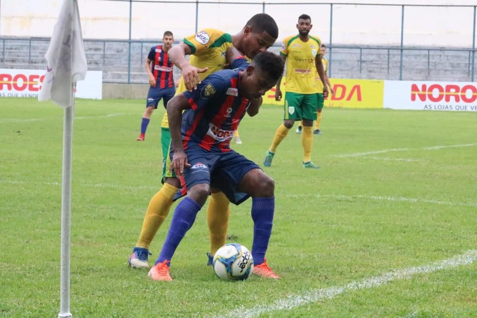 Piauí x Picos - Campeonato Piauiense 2020 — Foto: Arthur Ribeiro/GloboEsporte.com